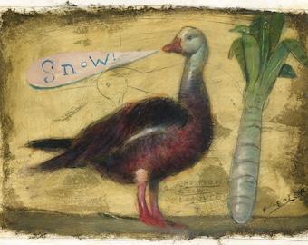 Snow Goose [original painting]