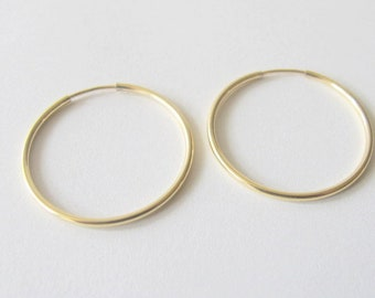 endless hoops 14/20 gold fill wire