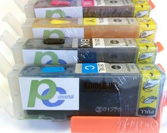 Edible Ink Cartridges Set 250 251 XL for PC Universal Edible Printer