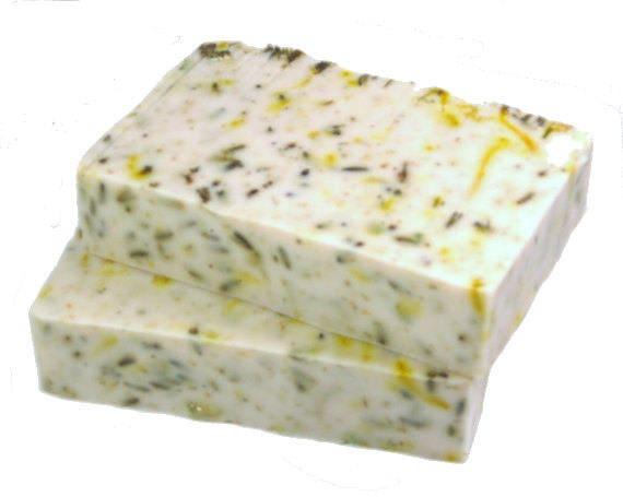 The ACNE FACIAL Bar - Tea Tree Oil Soap Bar with Calming Calamine, Chamomile & Calendula / VEGAN / Palm Free / Problem Skin / Gift for Teen