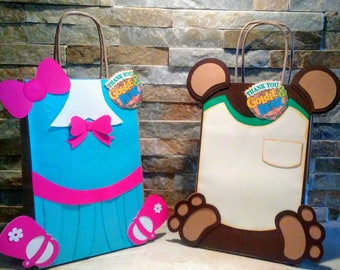 Goldie and Bear Goody Bags set of 12