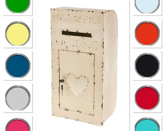 Vintage Metal Post Box Hire - ANY COLOUR