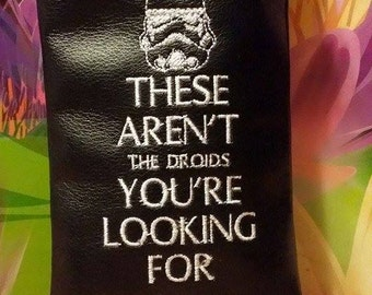 Custom star wars pipe pouch