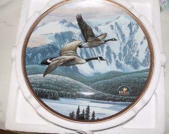 The Return Home, Bradford Exchange Plate by Alan Barnard. Highly Collectible 8 1/2 Inches. Mint never handled.