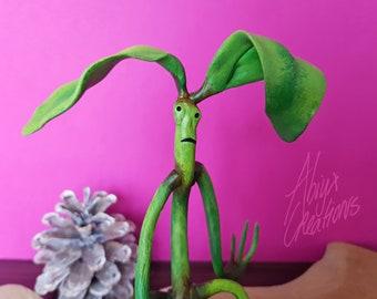 SALE! - Bowtruckle - Plant Creature - OOAK