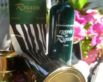 RIGAUD CYPRESS fragrance full atomizer perfume in its box 90ml