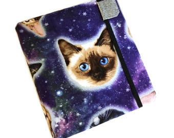 Kindle Oasis 2nd Generation cover - Kittens in Space - hardcover case for 2017 kindle Oasis - cat lovers case for kindle