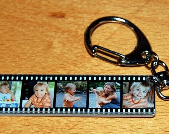 WRAP keychains personalized with 5 photos