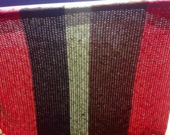 Crochet Afghan, Fall Home Decor, Ready to Ship, Afghan, Crochet Throw, Blanket, Fall Bedding, Striped Afghan, Fall Bedding