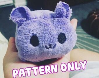 GoroGoro - Easy Chibi Kawaii Animal Roll Sewing Pattern - PATTERN ONLY