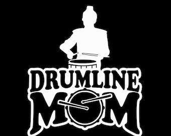 Custom Drumline Mom Vinyl Car Decal Sticker