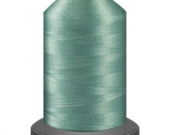 pistachio thread, quilting thread, sewing machine thread, glide thread, sewing thread, 1000m cone, green thread, polyester thread