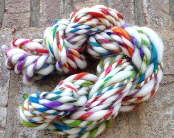 My Pretty Pet - 13% off - OOAK handspun art yarn 20 yards 36g 1.6 oz.