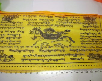 10 inch  buddist Tibetan prayer flags