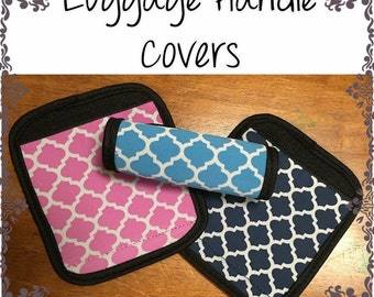 Luggage Handle Wraps, Luggage Tags, Personalized Luggage Tags