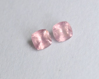 Mozambique Spinel, Spinel Pair, Mozambique Spinel Pair, 5mm Gems, 5mm Mozambique Spinel, Cushion Mozambique Spinel