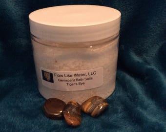 Tiger's Eye Gemscent Bath Salts (16 oz)