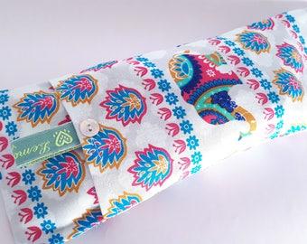 Soothing Lavender Eye Pillows - Elephant Pattern