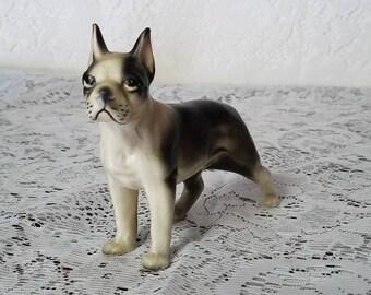 Vintage Made in Japan Boston Terrier Dog Figurine
