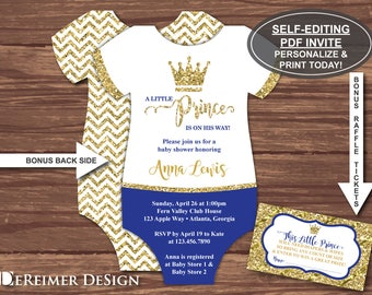 Prince Baby Shower | Etsy