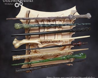 Wand Stand, Kit Wall Hanging - *Wands not Included* for witches and wizards, Wand Stand, Magic Wand, Wizard Wand stand, Witches Wand, Wand