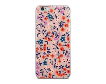 Clothesline Floral - iPhone 6, 6s, 6/6s Plus Case