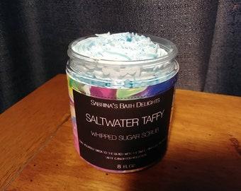 Whipped Sugar Scrub Salt Water Taffy Shaving Soap Whipped Soap Sugar Scrub