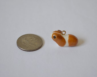 Small Custom Short-haired Guinea Pig Figure/Pendant for Necklace