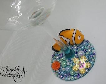 Personalised Finding Nemo Wine Glass