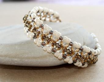 Beaded Swarovski Bracelet