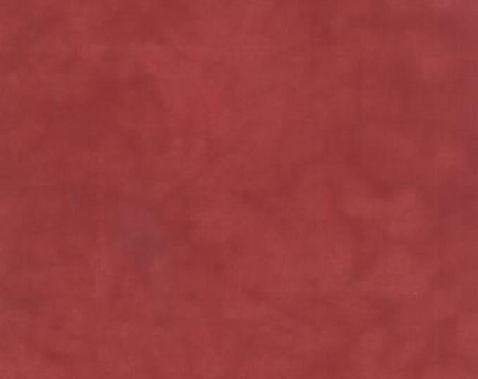Primitive Muslin Flannel Petunia Red - 1/2yd