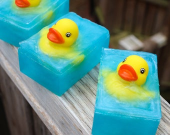 Splish Splash - Rubber Duckie Kids Bath Soaps