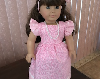 """Dress for 18"""" doll w/ necklace"""
