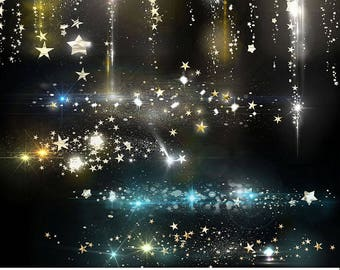 Shining And Sparkling Christmas Light Overlays, Glowing And Shiny Holiday Overlays To use on photos and Christmas Cards, Digital Download