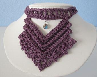 The Vandyke Necklace PDF Crochet Pattern (Vintage Inspired)