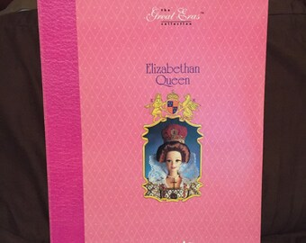 Price reduced to 65.00 Barbie doll, doll, vintage Barbie, collectible Barbie, Elizabethan queen barbie