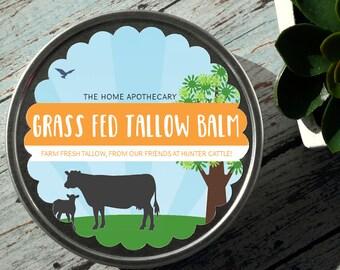 Grass Fed Tallow Balm /// <<<