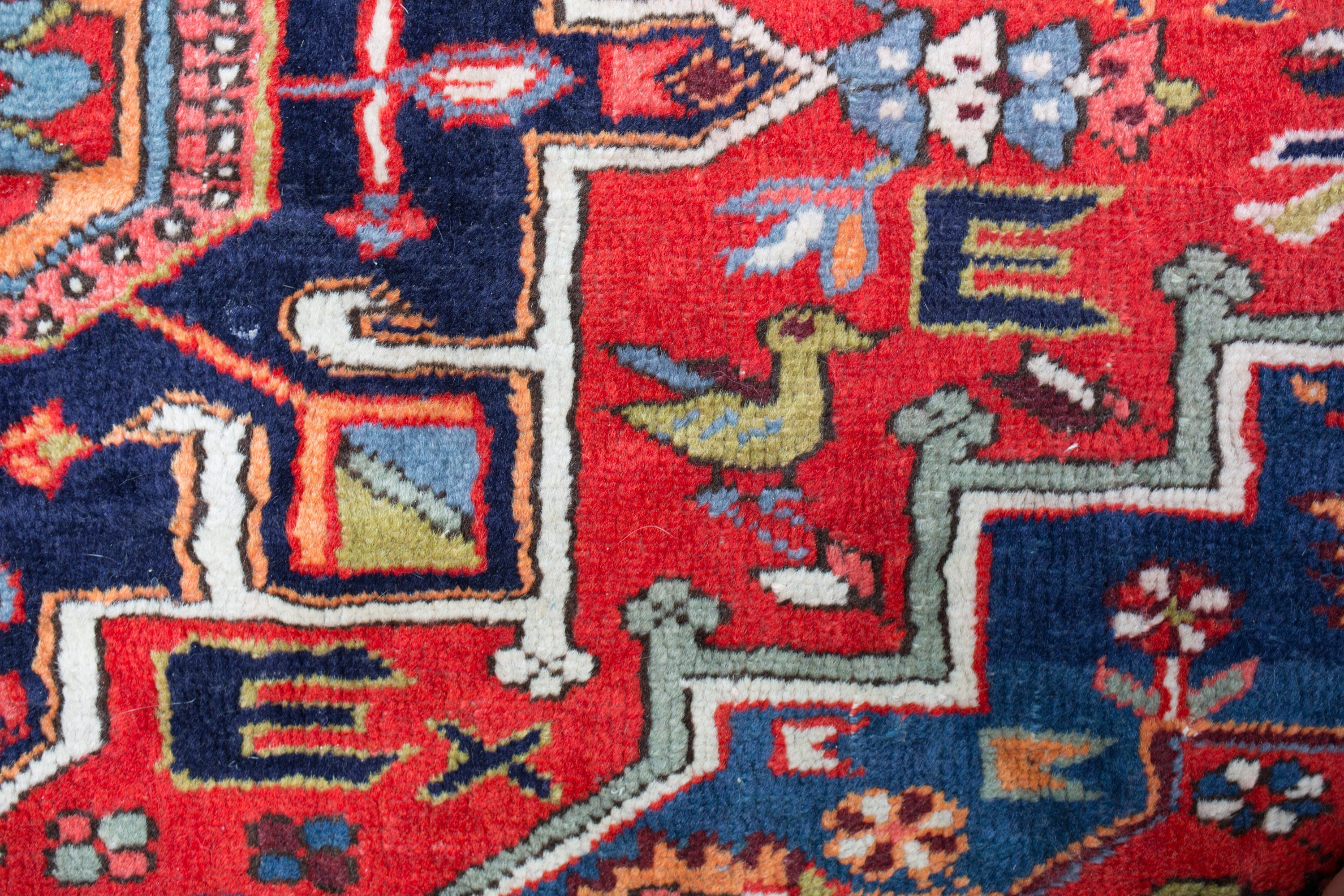 bohemian serapi vintage p lily rug pink il runner persian fullxfull red rugs heriz antique