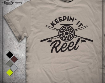 KEEPIN' IT REEL T-Shirt  ID91 -- Fishing Tee ID91