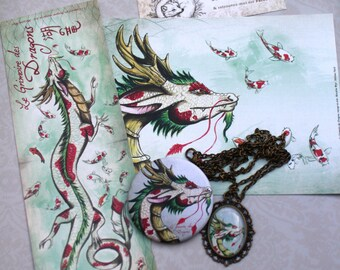"Nice lot magic ""dragon of Asia"""