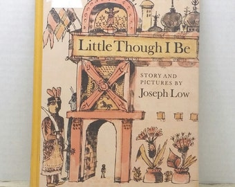 Little Though I Be, 1976, Joseph Low, vintage kids book