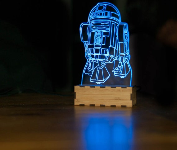 star wars desk accessories with lamp   R2-D2 Star wars Lamp R2D2 night light R2D2 desk lamp Star