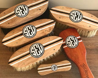 Custom/Personalized/Monogramed Horse Grooming Brushes