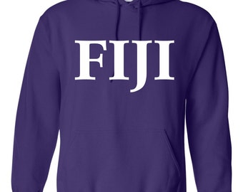 FIJI shirt, FIJI sweatshirt, Phi Gamma Delta Jacket, Phi Gam Hoodie, fraternity letters, greek letters, FIJI hoodie, Phi Gamma Delta jacket