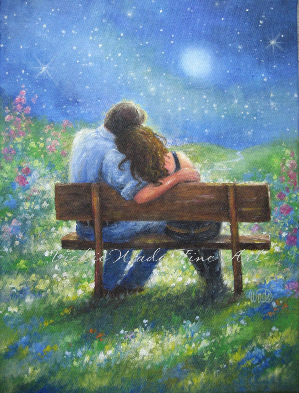 Two Lovers Sitting On A Park Bench 28587 Infobit