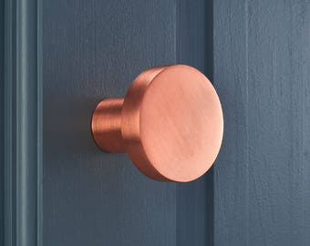 Contemporary Brushed Brass Copper, Gold and Silver Plated Brass Coat Hooks