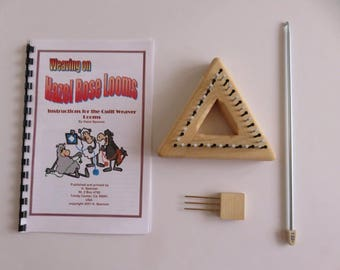 "Hazel Rose Loom Kit - Equilateral Triangle - 3.5"" - Maple"