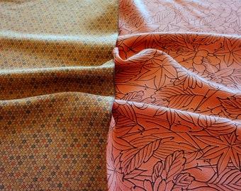 Vintage Japanese Silk Kimono Fabric | Patchwork Lot 136