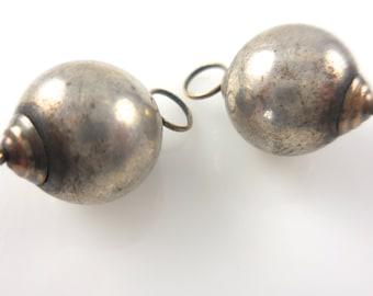 Silver  Enhancers for Hoops Silver Enhancers Silver Earrings