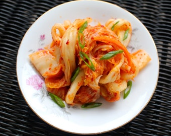 KIMCHI - Korean Kimchee/Gimchi 김치 - Living, Fermented Food - Healthy, Probiotic, Sugar & Gluten Free!